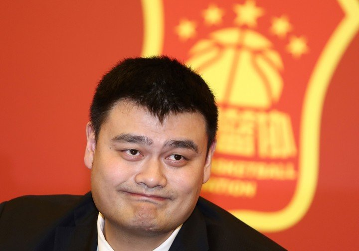 Yao Ming retired after a prolific NBA career. Photo: AFP