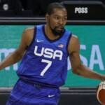 IN THE LOOK   The United States team will show its might when the Olympics arrive