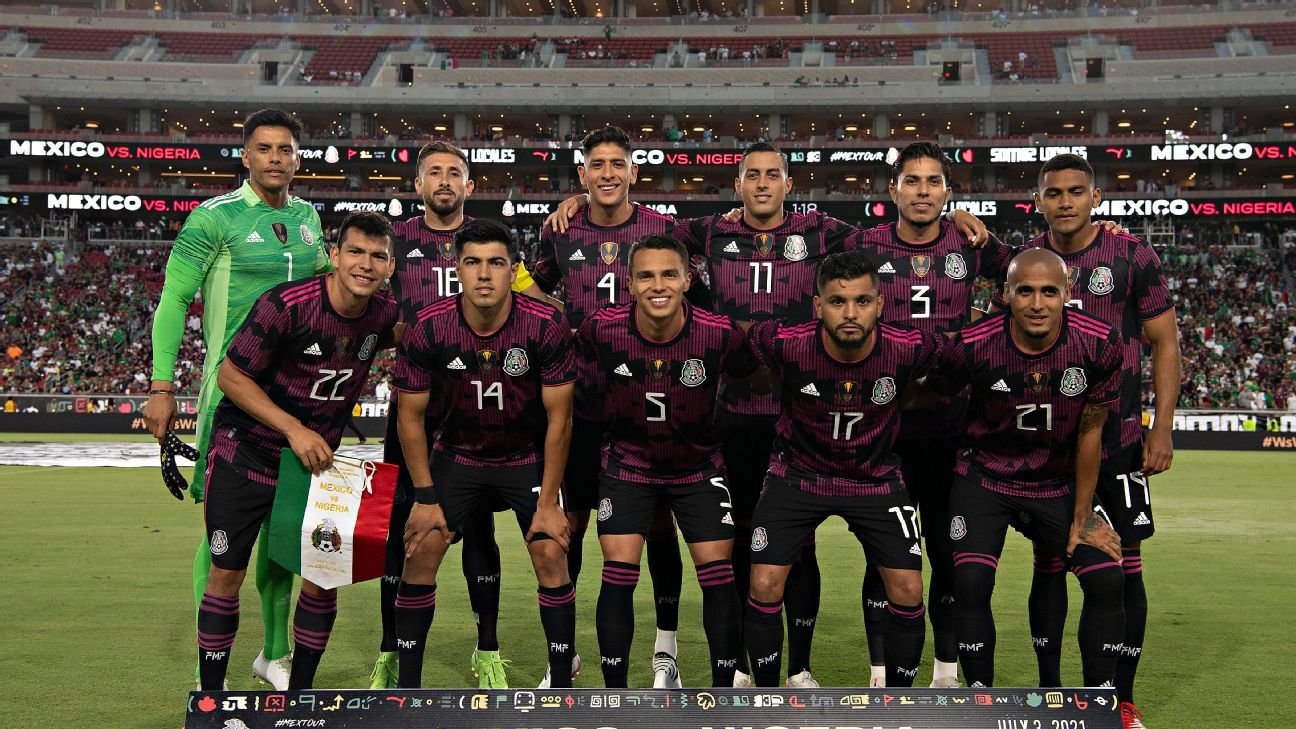 Individual challenges for the Mexican national teams in the 2021