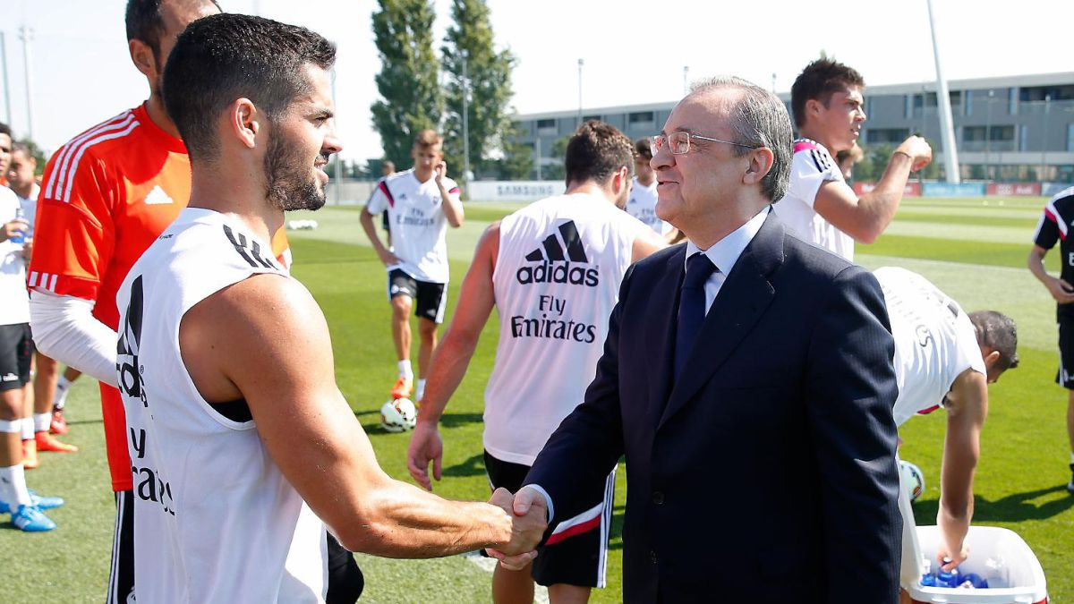 Isco is on the market