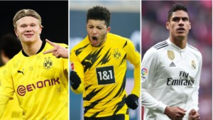 Jadon Sancho seriously affects the cases of Haaland and Varane