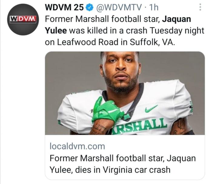 Jaquan Yulee dies