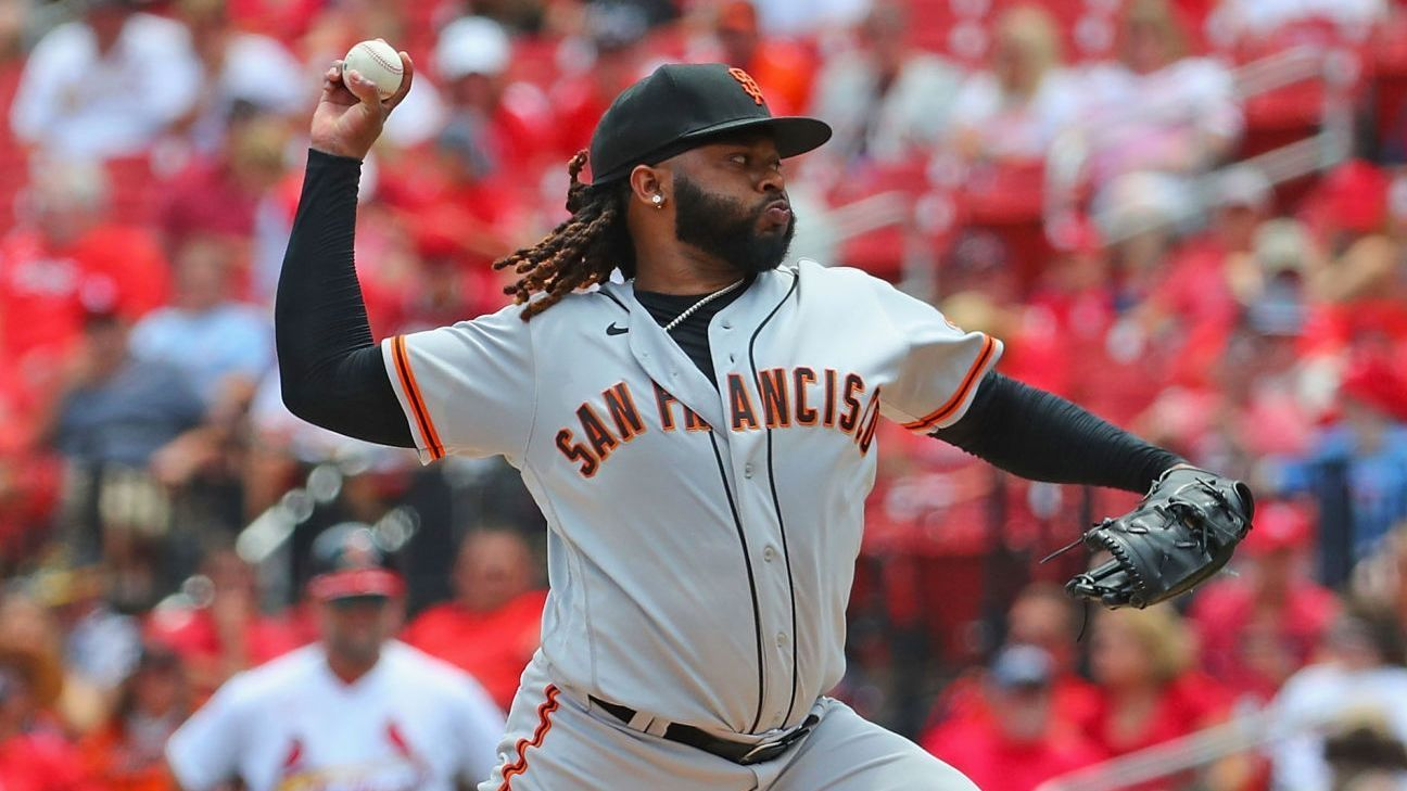 Johnny Cueto becomes seventh Dominican to pitch 2000 innings in