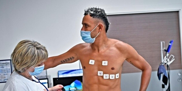 Keylor Navas sent a message to the PSG fans on social networks