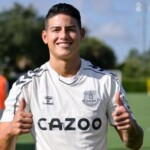 LIVE! James on the field at the Florida Cup: watch Everton vs Pumas