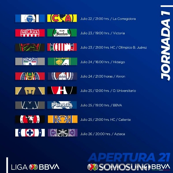 Liga MX broadcasting rights where to SEE each team on