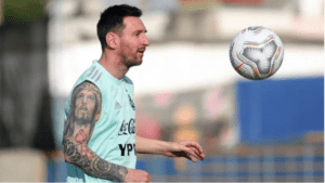 Lionel Messi showed his basketball skills [VIDEO]