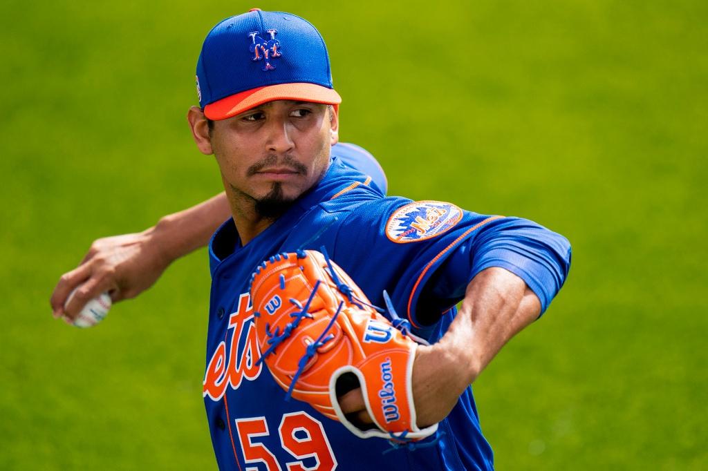 Luis Rojas spoke of Carlos Carrascos debut with the Mets
