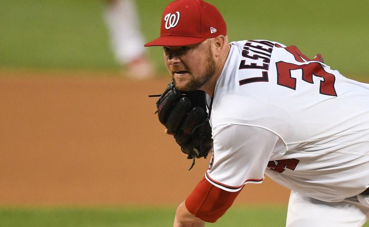 MLB Jon Lesters rare feat that puts him in strange