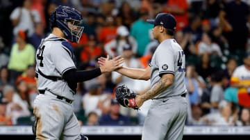 The Yankees opened their visit to Houston with triumph