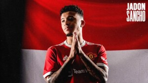 Manchester United sign Jadon Sancho for five years