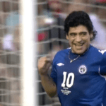Maradona's show in England: a video of his from 2006 went viral in which he dazzled with his magic