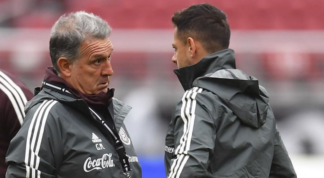 Martino makes it clear why Chicharito is not in El