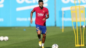 """Matheus and his dismissal from Barcelona: """"I was going to leave home with my wife and I received a message from the club"""""""