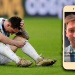 Messi, intimate: the video call with his family from the field and the message from Antonela Roccuzzo