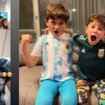 Messi's intimacy after shining against Ecuador: the call to his family from the dressing room and the special celebration that Otamendi captured