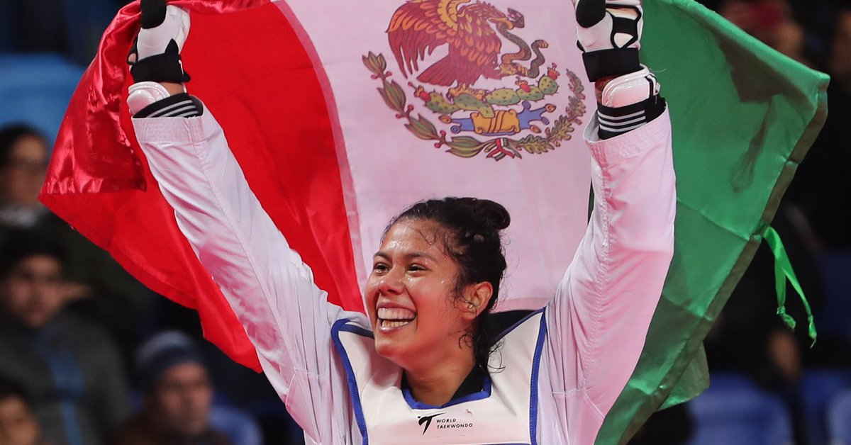 Mexico began its participation in Tokyo 2020 taekwondo the strong