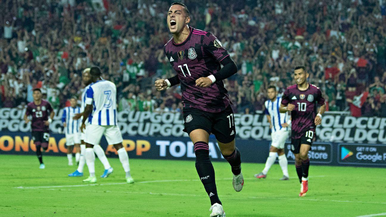 Mexico vs Honduras Game Report July 24 2021