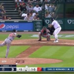 Miguel Cabrera sees the 500 home runs close with two boards against the Orioles