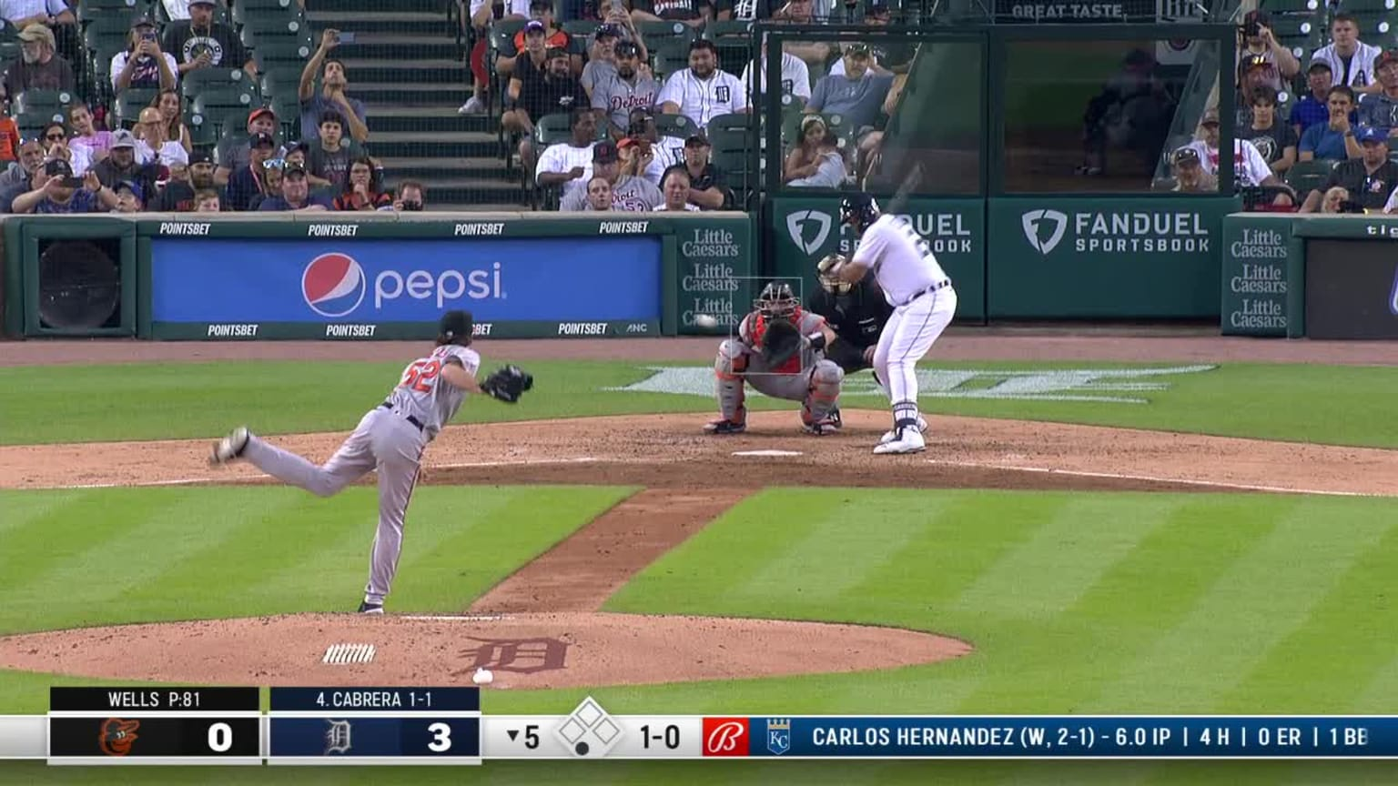 Miguel Cabrera sees the 500 home runs close with two