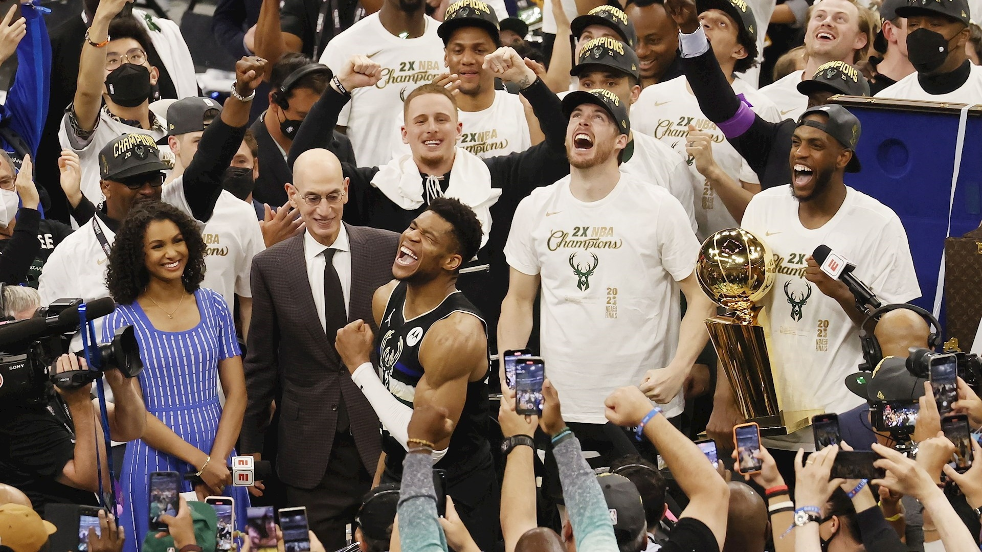 Milwaukee Bucks NBA champions for the first time in 50