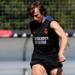 Modric shows his incredible physical change