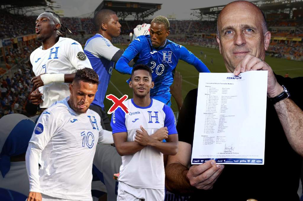 OFFICIAL: Call for the Honduras National Team for the 2021 Gold Cup with seven legionaries - Ten - Diario Deportivo