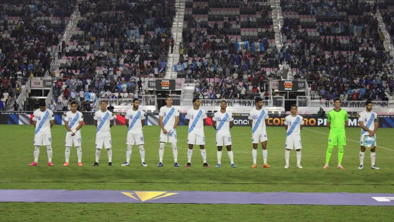 Official! Guatemala will play Gold Cup and debut against El Salvador this Sunday