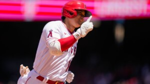 Ohtani equals MLB record for Japanese HRs