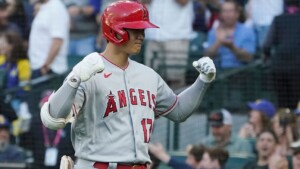 Ohtani gives HR to the highest part of M's stadium