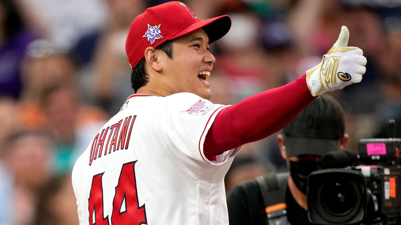 Ohtani wishes to participate in the HR Derby again