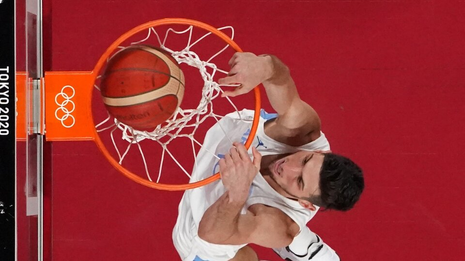 Olympic Games The basketball team meets Spain With Scola
