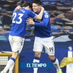 One more, James receives notice about his departure from Everton