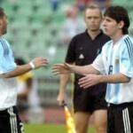 Pablo Alvarado, player who owes $ 50 to Messi 17 years ago!