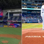 Patria y Vida rang out at the Miami Marlins stadium