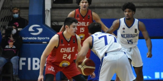Perfect campaign! Chile meets Nicaragua and finishes the pre-qualifier for the Basketball World Cup undefeated