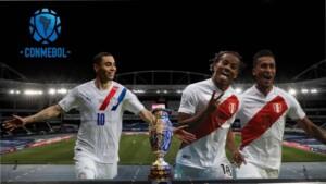 Peru - Paraguay in live | America's Cup 2021 | Brand