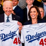"""""""Pillar of American Culture"""": Joe Biden pays tribute to champion Dodgers, but a mariachi jacket steals the event"""