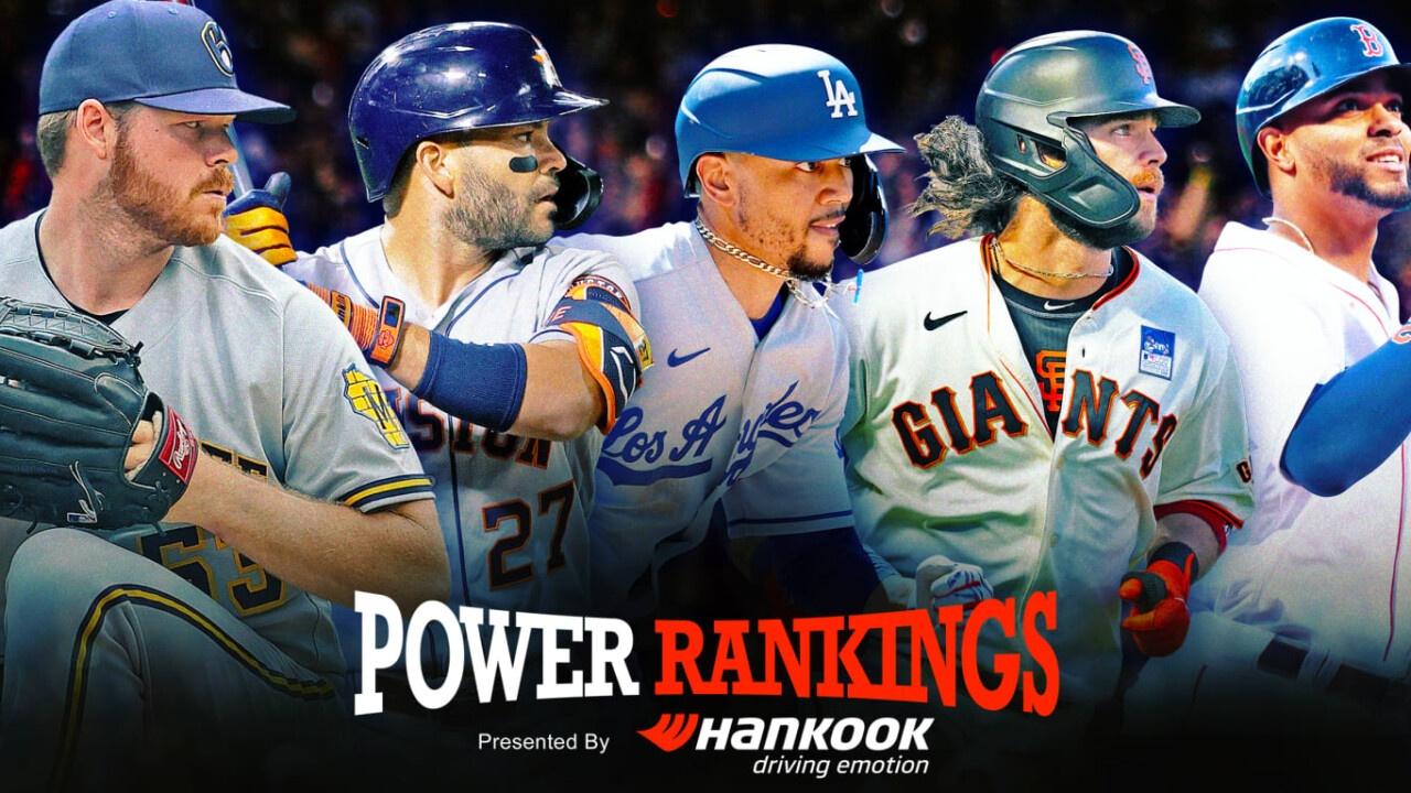 Power Rankings, mid-season