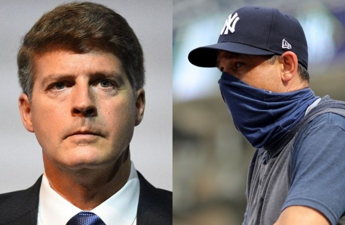 """President of the Yankees spoke clearly and """"raspao"""" of Aaron Boone as manager"""