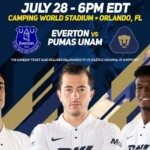 Pumas will collide with Everton of England in the Florida Cup