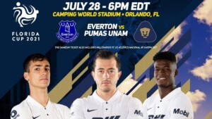 Pumas will collide with Everton of England in the Florida
