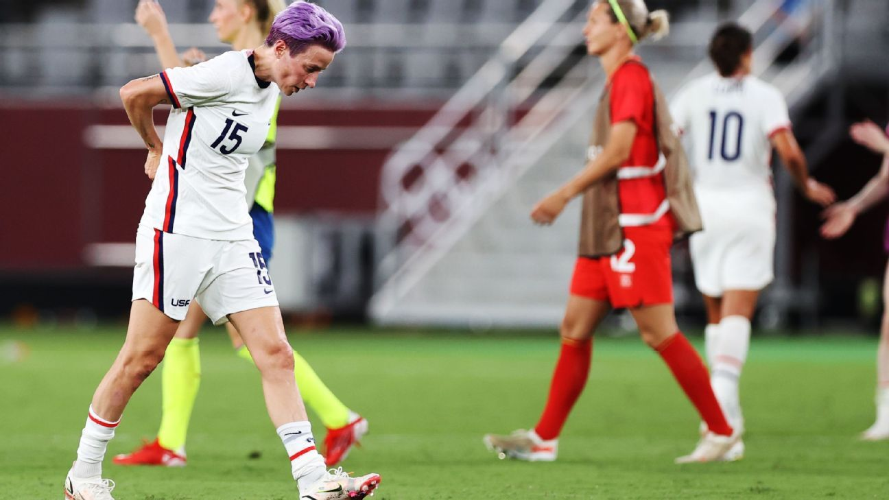 Rapinoe There is no time to regret