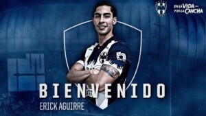 Rayados makes official the signing of Erick Aguirre, from Pachuca