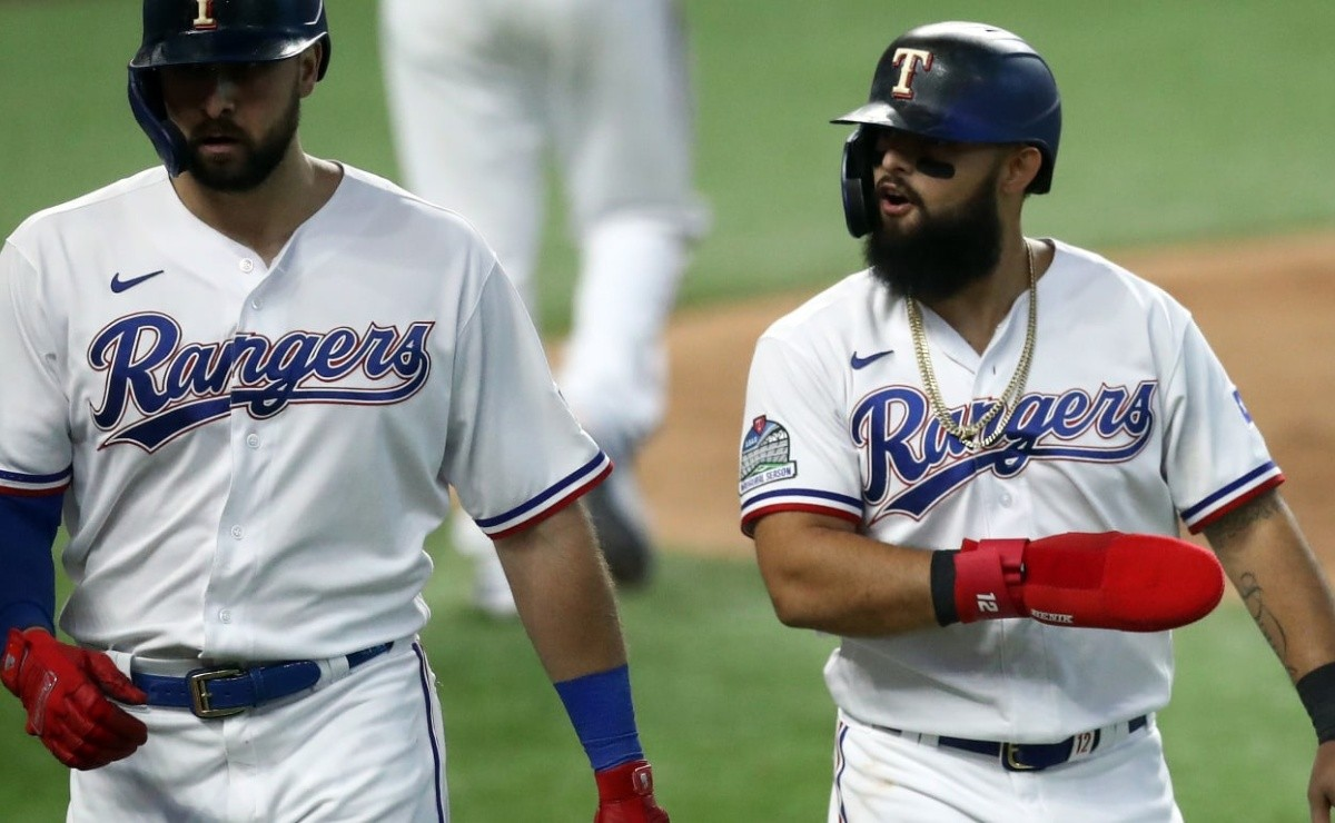 Recruiter Rougned Odor works with Yankees for the exchange of