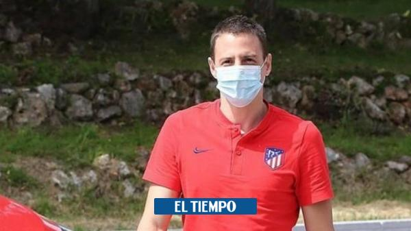 Santiago Arias and his emotional message after playing again
