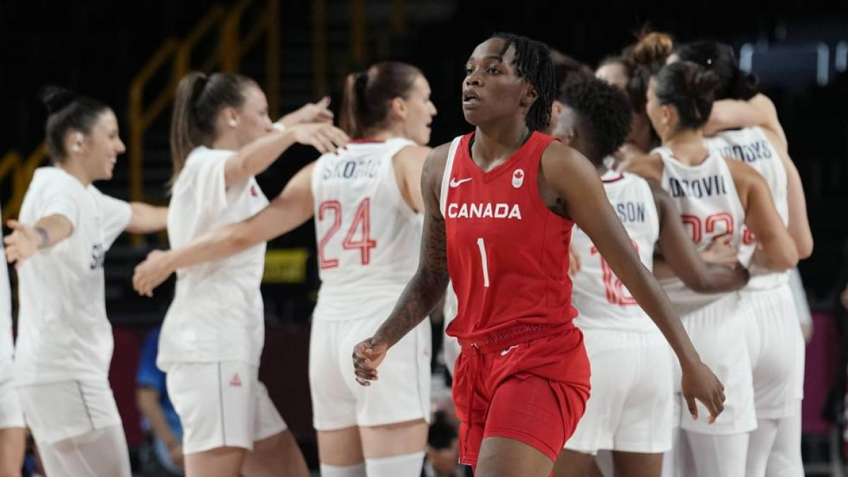 Serbia beats Canada before taking on Spain 72 68