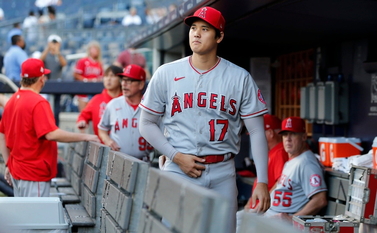 Shohei Ohtani says the beating the Yankees gave him helped