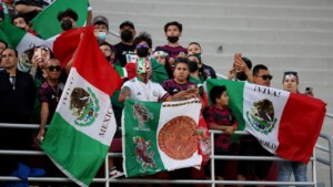 Since the Nations League, Mexican fans do not abandon the Tricolor