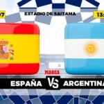 Spain - Argentina live   Football   Olympic Games   Brand